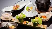 【日本料理】「せせらぎ」旬の野菜・魚をお楽しみください。 ※イメージ