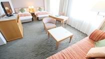 【デラックスツイン】最上階 37.48㎡ ハイグレードなお部屋で、いつもとは違うひと時を。