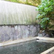 *【露天風呂】中川温泉につかって、旅の疲れを癒しましょう。