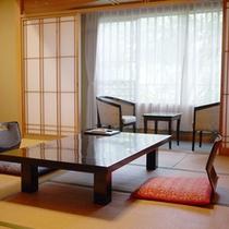 *【客室例】窓の外には美しい自然が広がります!