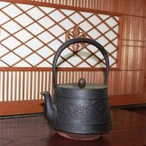 女将の趣味でお抹茶もお出ししています。