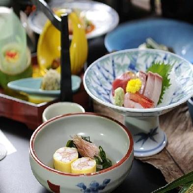 【蟹&南蛮海老盛付】日本海の幸を満喫!『選べるメイン料理付会席』+『蟹&南蛮海老』を堪能♪≪広間食≫