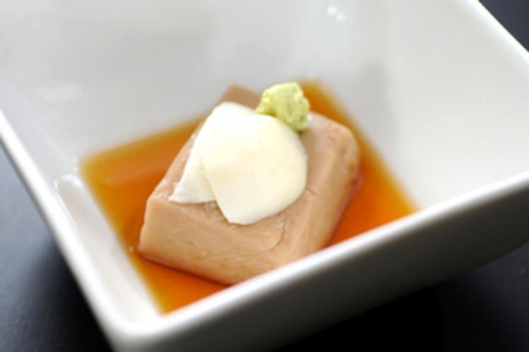 【薬膳料理】落花生豆腐