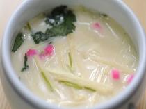 竹の子の茶碗蒸し