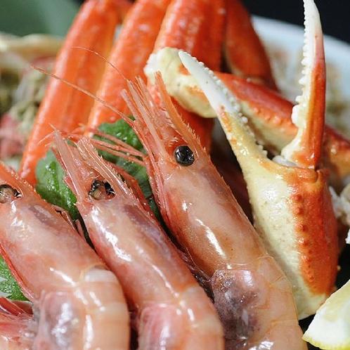 海老蟹盛り