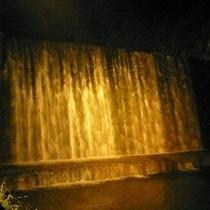 ■滝ライトアップ