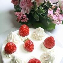 ■ケーキ・花