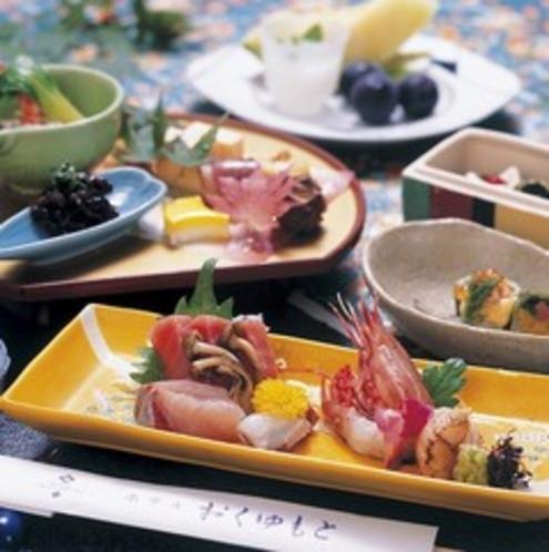 ■山里料理(基本膳)