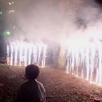 ■夏の手持ち花火大会(ナイアガラ)