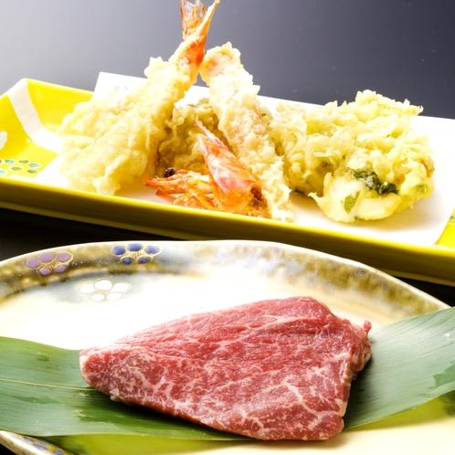 ■天ぷら&ステーキ