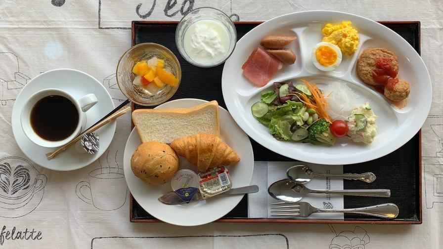【ANA楽パック限定】【バイキング朝食付】天文館にお泊りの翌日は・・・美味しい朝食を♪