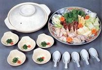 ちり鍋5人前 季節料理