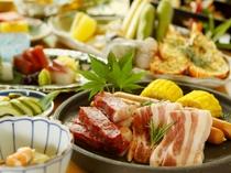 【夕食/炙り焼き会席】