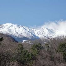 *御嶽山:冬(車で20分)