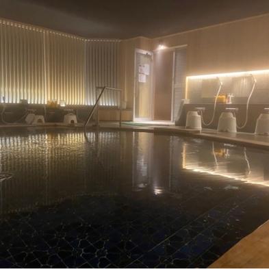 仕事終了後はそのまま温泉へ・・・「1泊朝食温泉入浴込!ビジネスパック」
