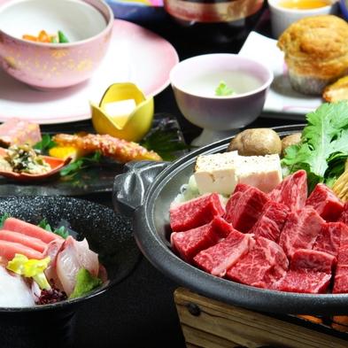 女子旅にも人気の食をそそるお肉系♪【夏野菜&和牛陶板焼き会席】