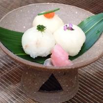 てまり寿司3種盛