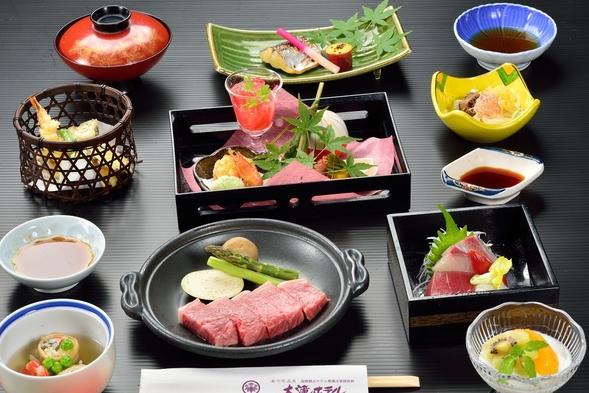 【伊豆箱根旅】今日は気分を変えて♪やわらか和牛ステーキ御膳ぷらん