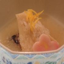 09年2月牡蠣と竹の子の煮物