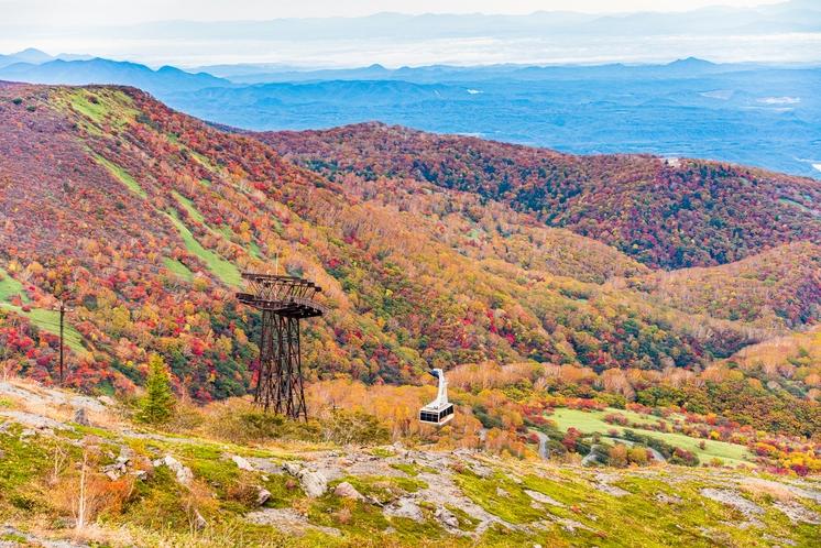 紅葉の那須岳
