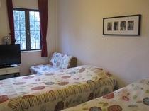 ツインルーム(お部屋の一例です)