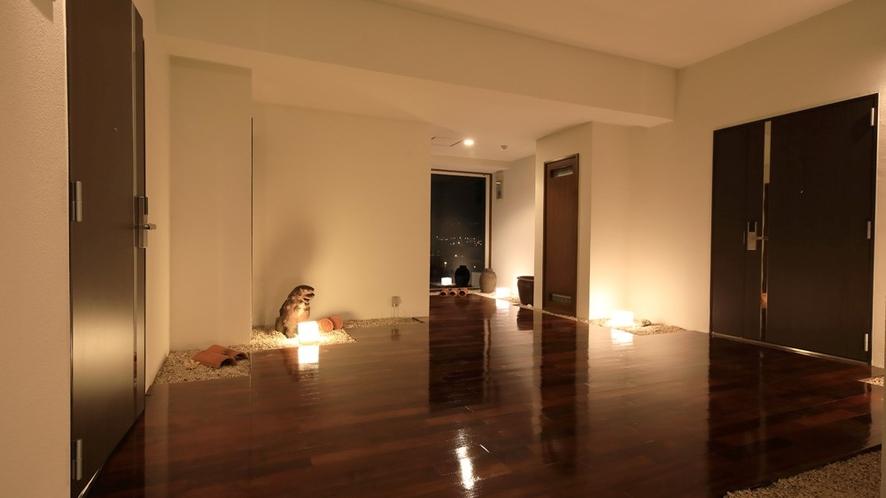 全室1フロアに2部屋だけの離れ部屋。ファミリーやグループ旅行での貸切にも◎♪