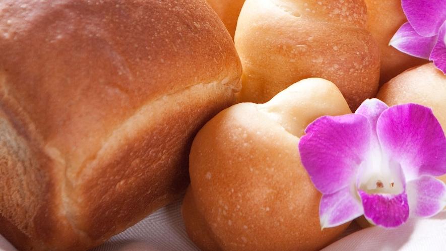 毎朝焼き立て♪ふっくら香ばしい自家製パン