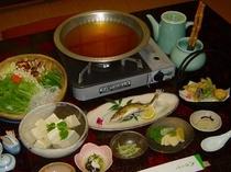 名水湯豆腐鍋プラン