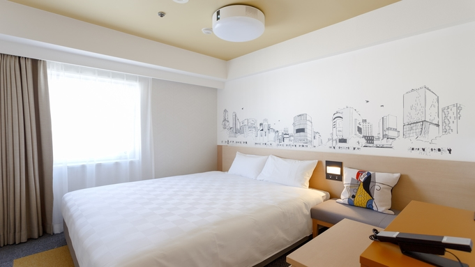 【サマーバーゲン】渋谷を感じるアートな客室♪JR渋谷駅より徒歩2分 食事なし