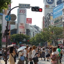 ◇渋谷スクランブル交差点(夏)◇