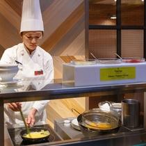 オムレツコーナー(朝食)
