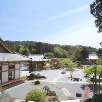 【津龍院】境内からの『風景』とても清々しい空気を感じる場所です