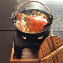 蟹から出るダシを堪能するならお鍋が一番!渡り蟹鍋
