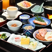 朝食膳の一例
