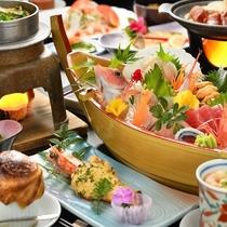 【ペットプラン】★ペットと一緒にご宿泊★旬の海鮮スタンダード御膳+ふかひれスープパイ包み♪