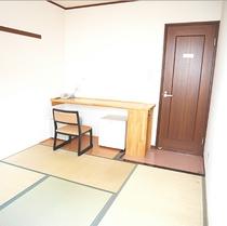 【ビジネス和室1人部屋】『4畳』『禁煙』喫煙所はすぐ近くにございます。