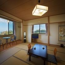 【禁煙】【新館】和室(2~5名)Wi-Fi完備(トイレ付)<海側>