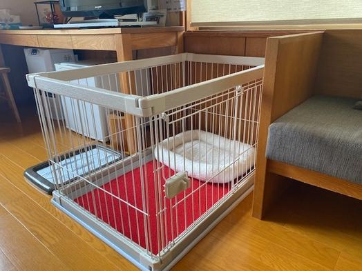 愛犬とお泊まり【一泊朝食プラン】小型犬用サークル付き洋室【ツインルーム】(連泊不可)
