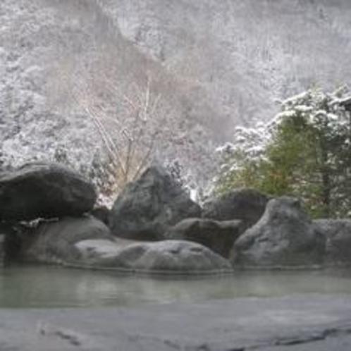 露天風呂(冬)2改