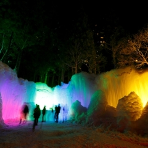 ★周辺_たるまの滝ライトアップ