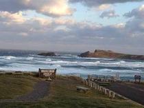 スコトン岬 美しい夕焼けを見ることができます