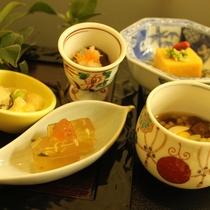 【冬の前菜】(一例)