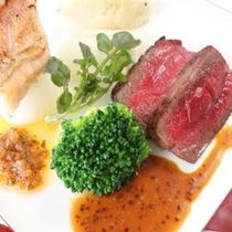 西洋会席料理 メイン料理お肉