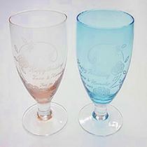 ●世界のガラス館 グラス彫刻