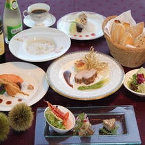 秋の洋食ディナー