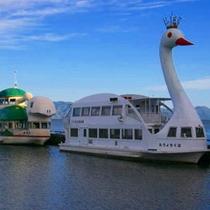 ●猪苗代湖 観光遊覧船