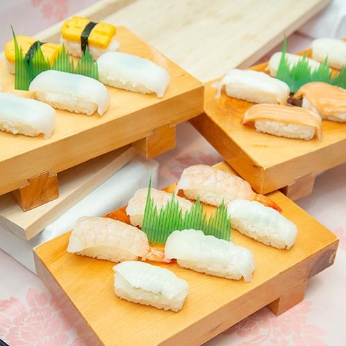 *【GOZZOバイキング】握り寿司コーナー(一例)