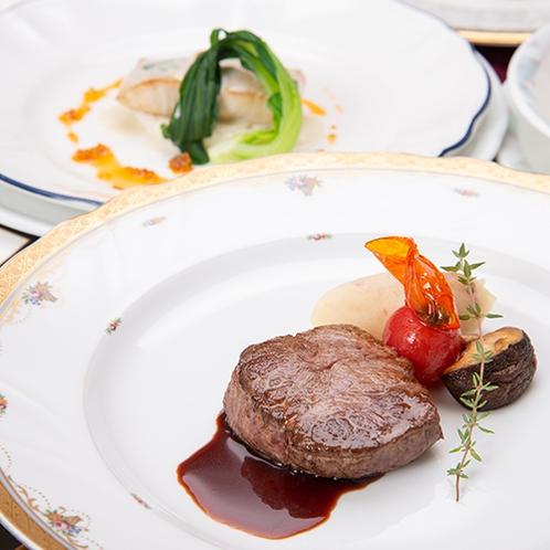 *【本格フレンチ/スタンダードコース】牛フィレ肉ソテー(一例)