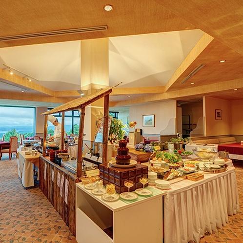 *【GOZZOバイキング】40種類以上のお料理が並ぶ和洋中バイキング!