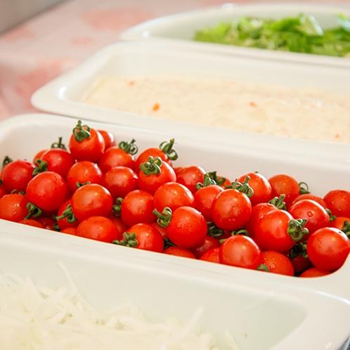 *【朝食バイキング】野菜で朝から健康的に。(一例)